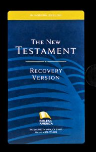 The New Testament Recovery Version
